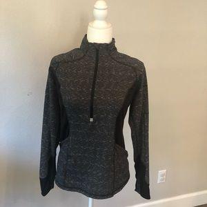 Black and Gray  Active Jacket